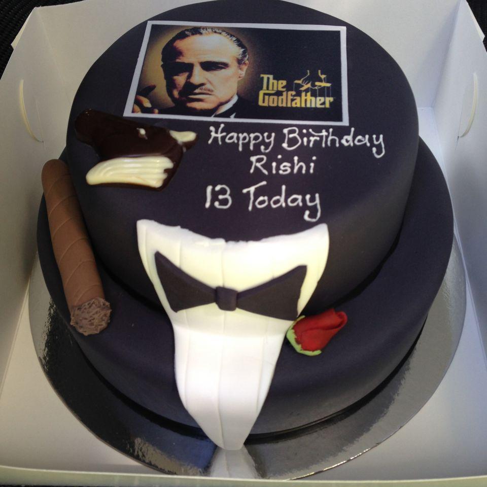 Wedding Cakes Birthday Cakes Chocolates North Shore Sydney - Godfather Wedding Cake